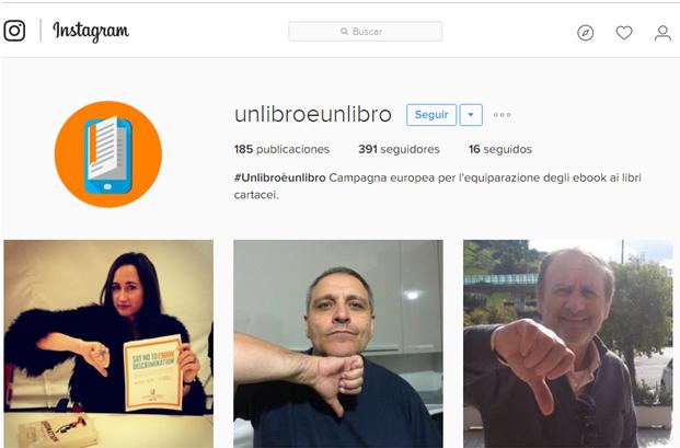 Instagram #unlibroèunlibro