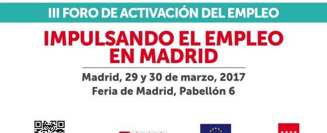 X Feria de Empleo para personas con discapacidad y III Foro de Activación del Empleo