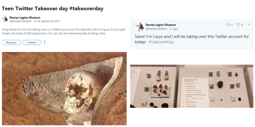 Ejemplo de Takeover en Twitter
