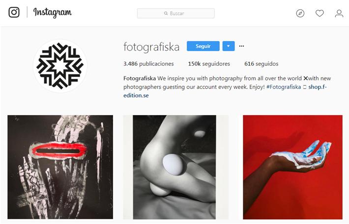 Ejemplo de takeover en instagram