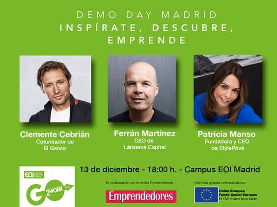 Demo day Coworking EOI Madrid