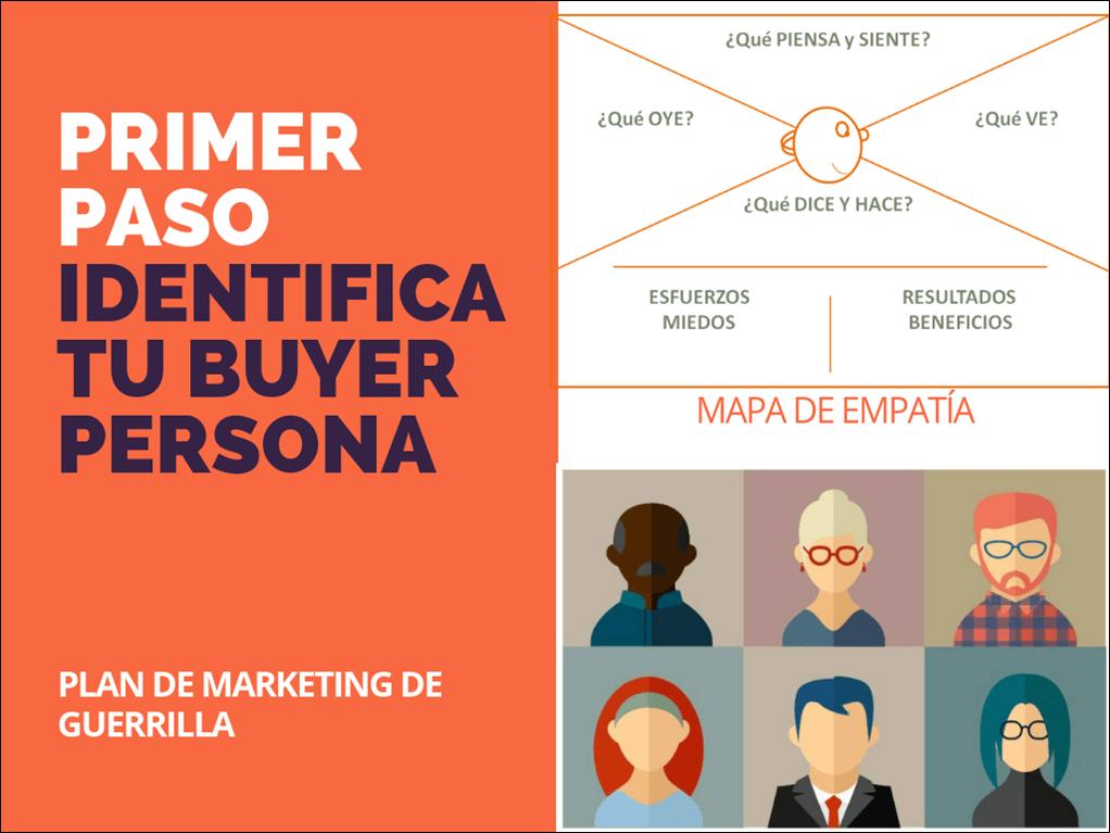 Identifica tu buyer persona