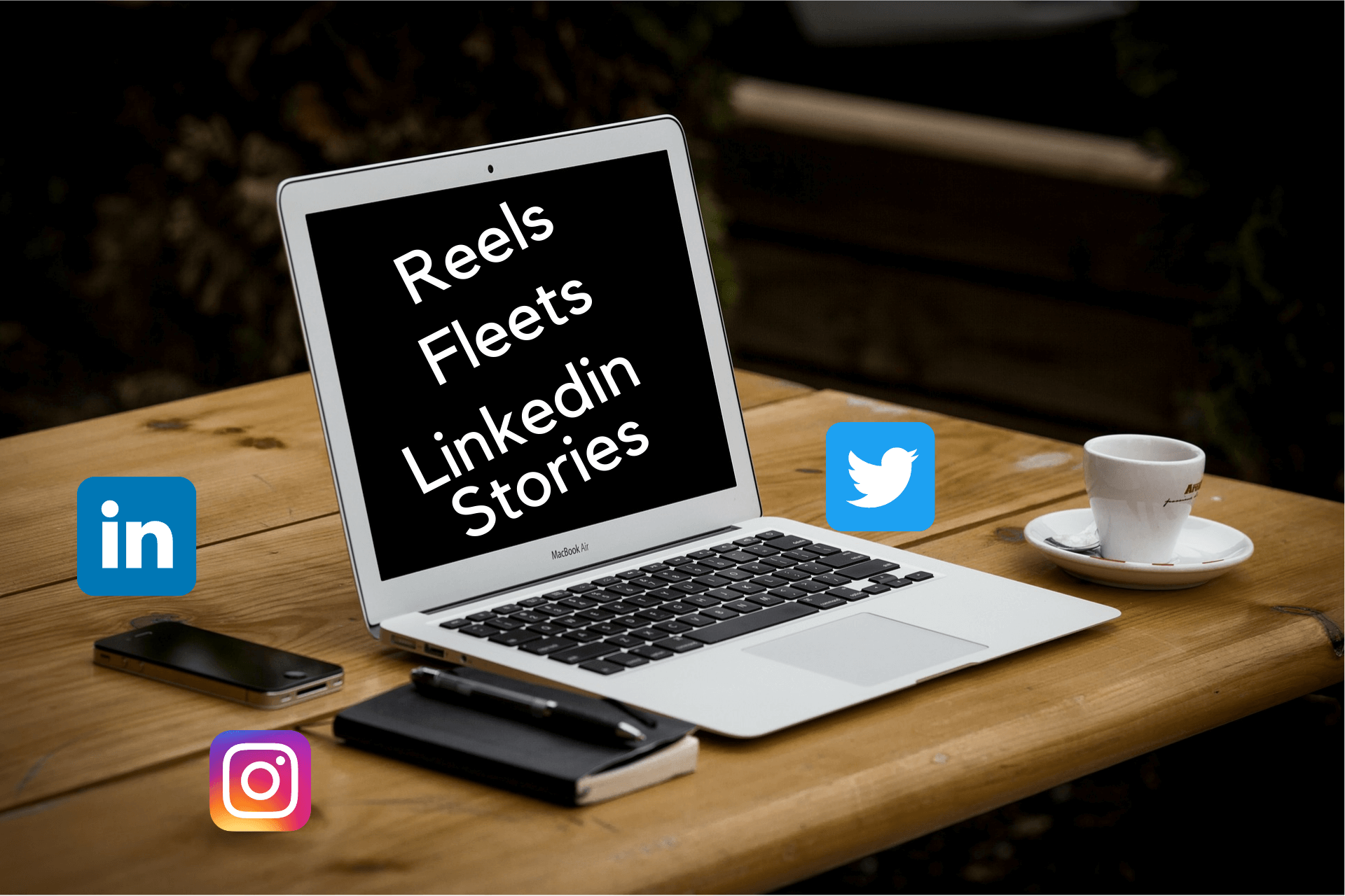 REELS LINKEDIN STORIES FLEETS